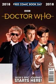 FCBD 2018 Dr Who