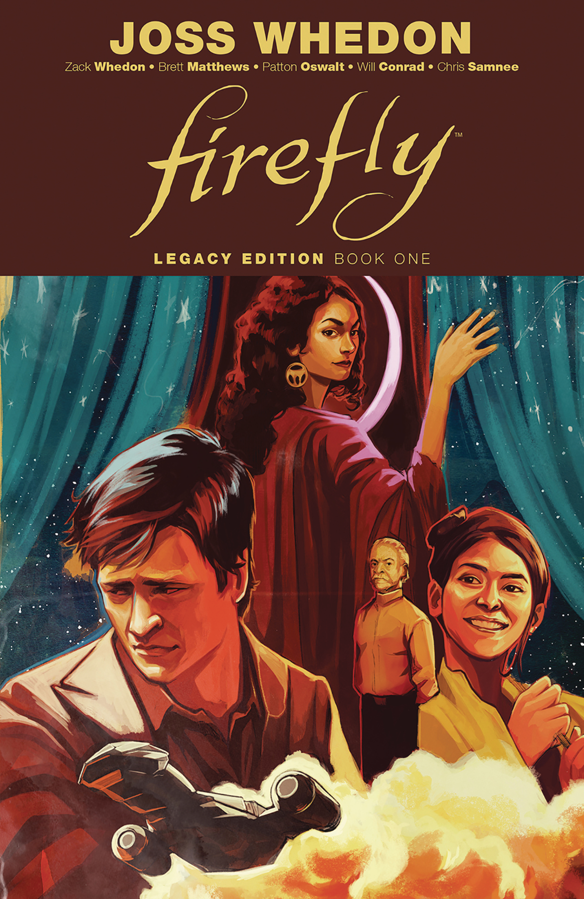 Firefly Legacy Edition reprints all of the Dark Horse Firefly comics into a single volume