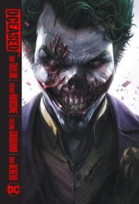LCSD 2019 DCEASED HC - JOKER COVER(LOW PRINT RUN - 1400 COPIES)(W) Tom Taylor (A) Trevor Hairsine, Stefano Guadiano (CA) Francesco MattinaWhat happens to the World's Finest if the world ends? With death spreading across the planet, who will live and who will turn in this apocalyptic tale of heroism, sacrifice and annihilation? Fighting time, each other and all of humanity, Earth's greatest heroes must rally together for what may very well be their last chance to save the world from the most terrible plague humanity has ever seen. The Anti-Life Equation has been released and is ravaging the world at the viral speed of social media. Once exposed, victims lose their minds, violently attacking all around them. The heroes of Earth are fighting a losing battle to save the world... and themselves! Collects DCEASED issues #1-6 and DCEASED: A GOOD DAY TO DIE #1.