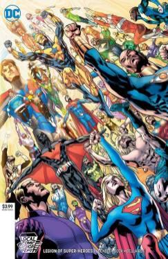 LCSD 2019 LEGION OF SUPER HEROES #1DC COMICS(LOW PRINT RUN - 500 COPIES)(W) Brian Michael Bendis (A/CA) Ryan Sook