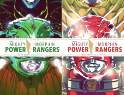 LCSD 2019 MMPR YEAR ONE & TWO HC SETBOOM! STUDIOS(A) Various(LOW PRINT RUN - 750 COPIES)Limited to 750 units and back by popular demand, BOOM! Studios is reprinting both MIGHTY MORPHIN POWER RANGERS YEAR ONE and YEAR TWO deluxe hardcover editions, featuring exclusive covers by fan favorite cover artist, Goni Montes. These exclusive hardcover editions will be shrink wrapped together as a bundle and can be sold together as a set or individually. They are the perfect gift for any Power Rangers fan and pair perfectly with the MIGHTY MORPHIN POWER RANGERS SHATTERED GRID LCSD BLIND BOX