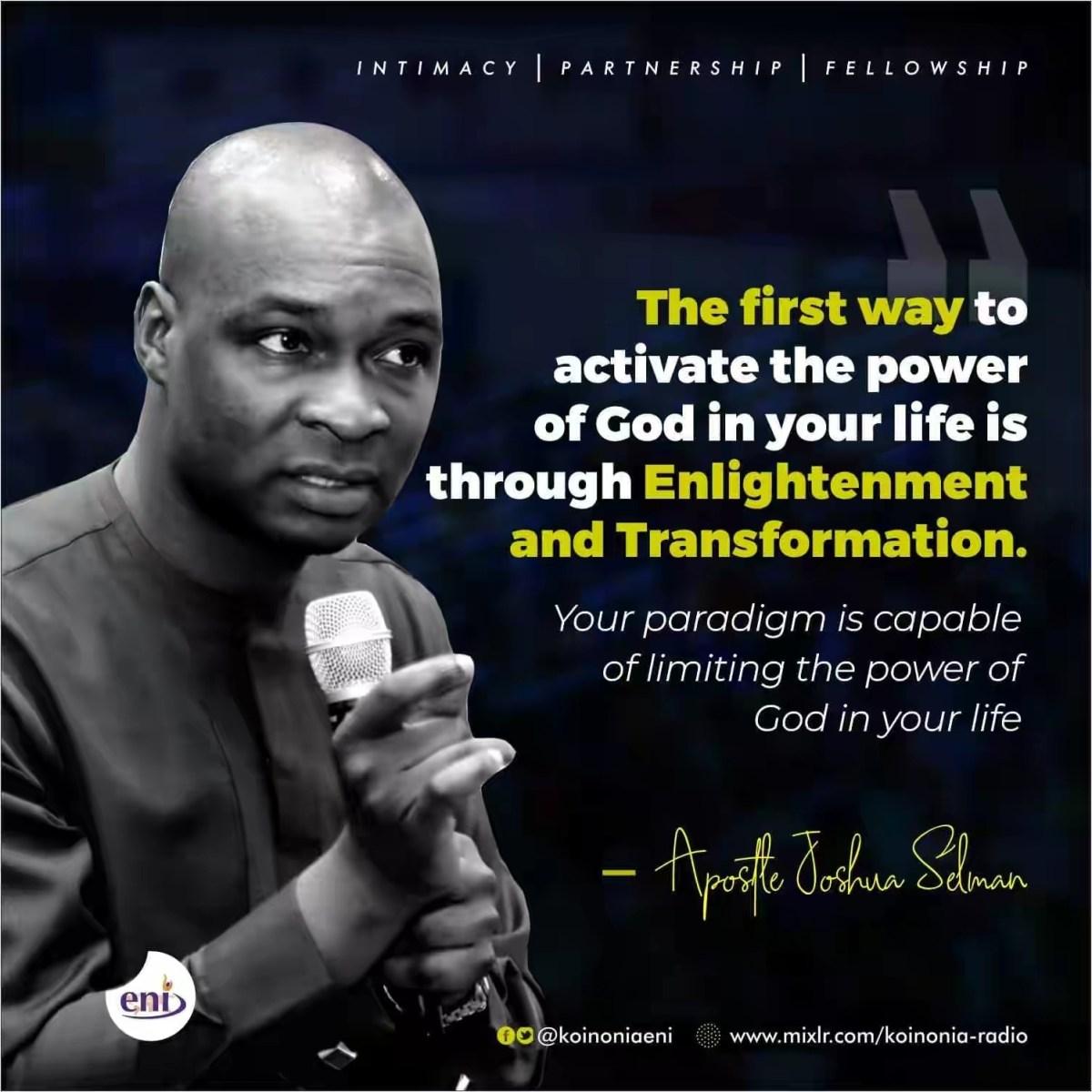 Download Sermon: His Divine Power - Koinonia 2019 | Apostle Joshua Selman