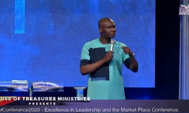 Download Sermon: TRUE RICHES – ExcelConference 2020   Apostle Joshua Selman