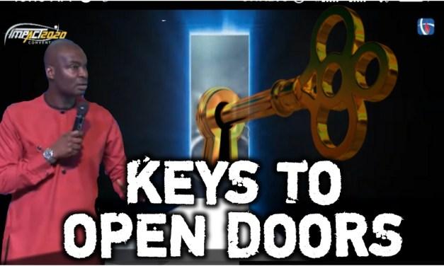 Download Sermon: KEYS TO OPEN DOORS – HCC Impact 2020   Apostle Josua Selman