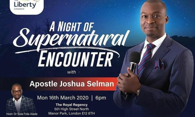 Download: A NIGHT OF SUPERNATURAL ENCOUNTER With Apostle Joshua Selman – Supernatural Shift 2020 (GRAND FINALE)