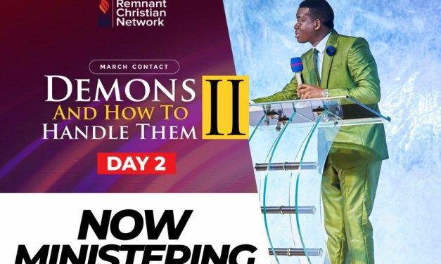 Download Sermon: DEMONS AND HOW TO HANDLE THEM (PART 2) | Apostle Arome Osayi
