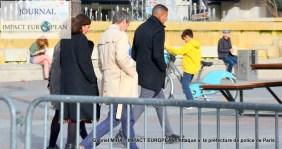 Attaque à la préfecture de police de Paris - la maire de Paris sur place