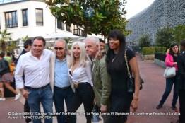 Hervé POUCHOL, Sylvain COLLARO, Véronique KOCH, Jacky et BB Ange