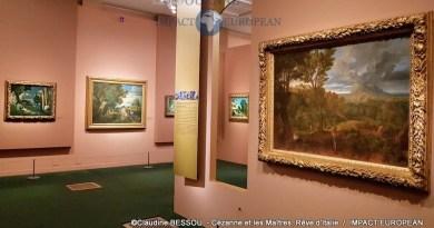 Exposition : Cézanne et les Maîtres, Rêve d'Italie