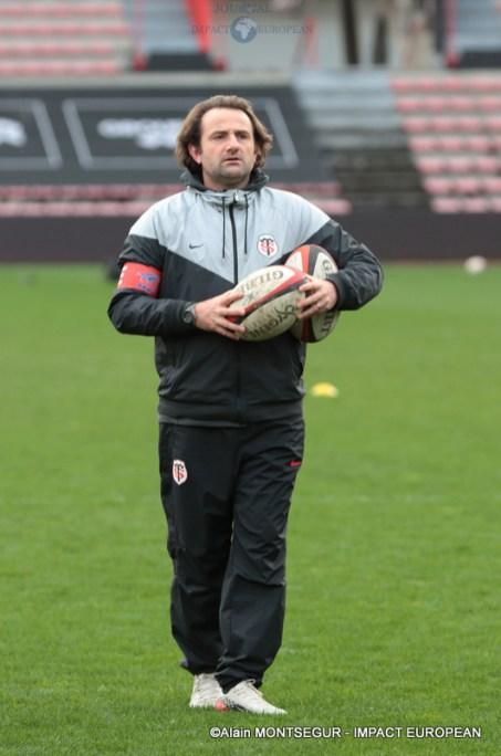 L'entraineur principal de Toulouse, Anthony Granja