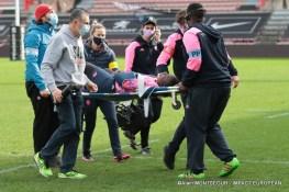 Diaw a été gravement blessée et évacuée, pour une fracture du coude