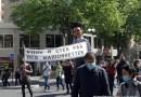 Une manifestation pour défendre l'assurance chômage