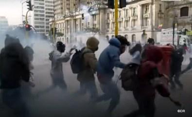 Manifestations et repression en Colombie suite à la réforme foncière 5