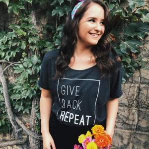 Give. Back. Repeat Tee