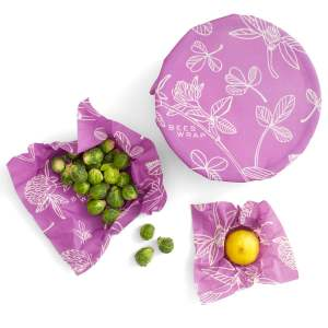 Clover Print – ASSORTED Set of 3 Sizes (S, M, L) – Bee's Wrap