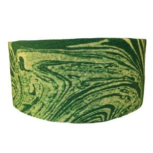 Green Marble Tube Turban