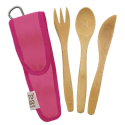 Kids utensil set melon