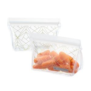 ~Reusable Snack Bags – Gold~