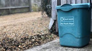 food recycling bin