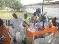 Ope Bakare, Muri Adefeso, Lateef Adesanya and Seyi at the reunion party