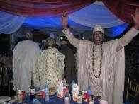 Odofin of Igbogbo, High Chief Onsanya also thanking the Lord