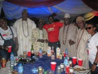 Lati with Ipakodo regent and High Chiefs in Ikorodu Division