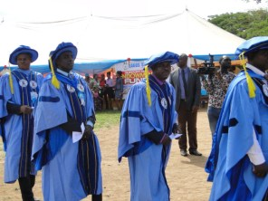 Procession to the Convocation Ground