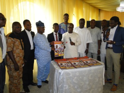 Hon. Benson, Hon. Agunbiade launching Southwest Newsmagazine with the Publisher, Lekan Biliamin and other guests