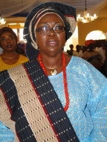 Hon. (Chief) Mrs Adebimpe Akinsola, acting Commissioner for Tourism/Special Adviser on Arts & Culture, Lagos State