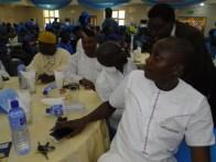 DG, Icare Movement, Mayor Deen Sanwoola with other guests