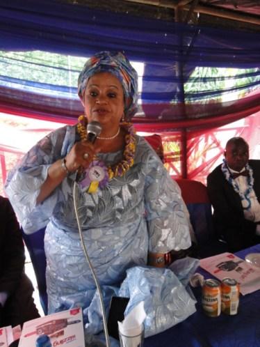 Princess Adenrele Ogunsanya at the occassion