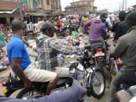 The situation on Ireshe Road, Ikorodu few minutes back