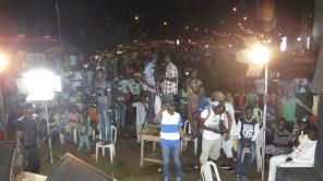 Seas of heads at the concert in Ikorodu