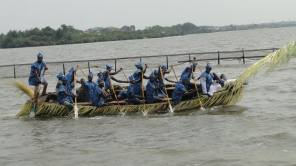 Boat display by another team during the Liwe festival in Ebute-Iga early this year (file copy)