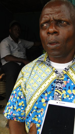 Mr Patrick, Chairman of the demolished Section B, Sabo market, Ikorodu