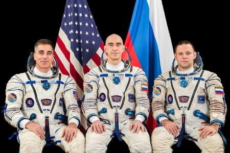 The Expedition 63 crewmembers