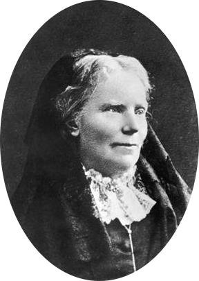 Black and white photograph of Elizabeth Blackwell
