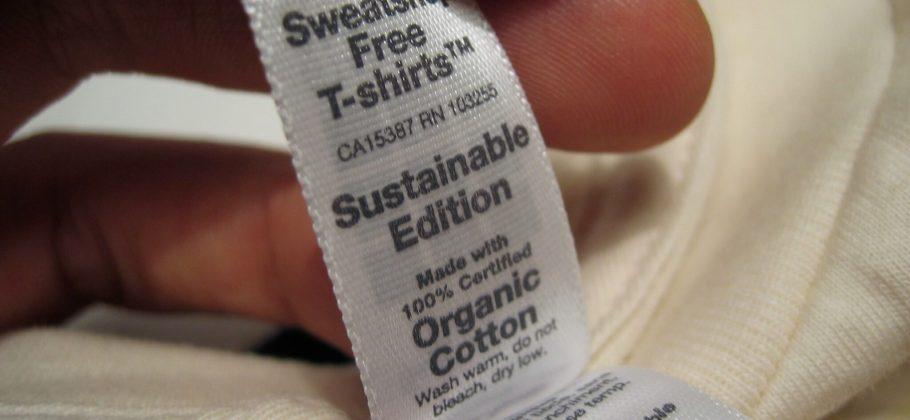 Sustainable clothing label
