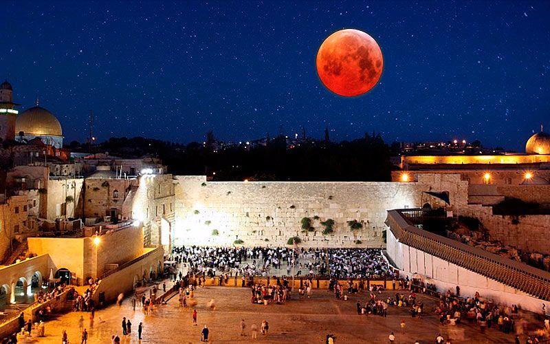 Judíos afirman que la Luna de Sangre inicia un cambio en la historia de Israel
