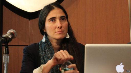 """""""No estoy aquí como política o como periodista sino como ciudadana de un país donde serlo es una idea, no una realidad todavía"""", continuó Sánchez."""