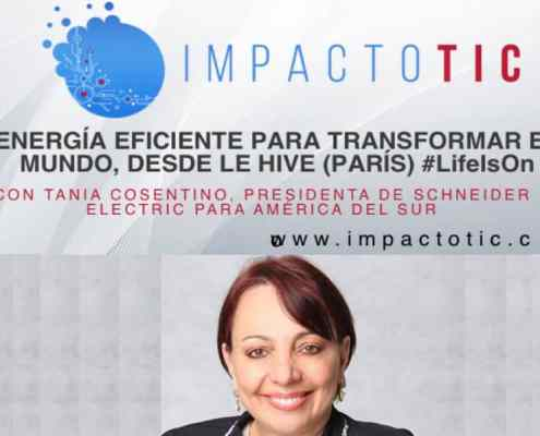 ENERGÍA EFICIENTE PARA TRANSFORMAR EL MUNDO, DESDE LE HIVE (PARÍS)