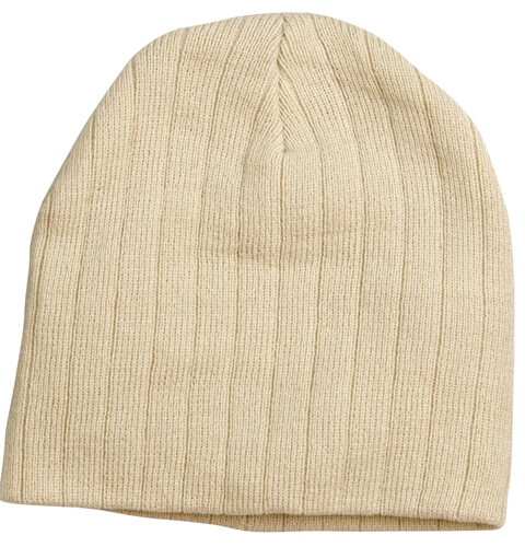 Impact Teamwear - Cable Knit Stripe Beanie