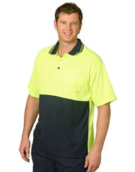 Impact Teamweare - Hi Vis Short Sleeve Polo