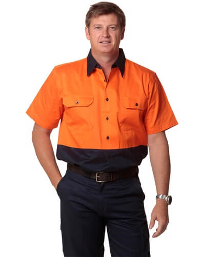 Impact Teamwear - Short Sleeve Work Shirt