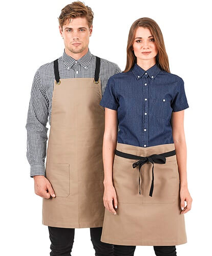 Impact Teamwear Ballarat - Brooklyn Canvas Bib Apron