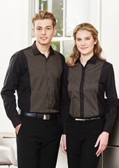 Impact Teamwear Ballarat - Hospitality Reno Panel Shirt