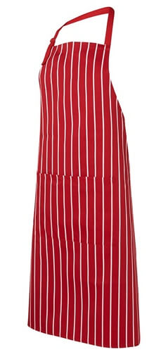 Impact Teamwear Ballarat - Bib Striped Apron