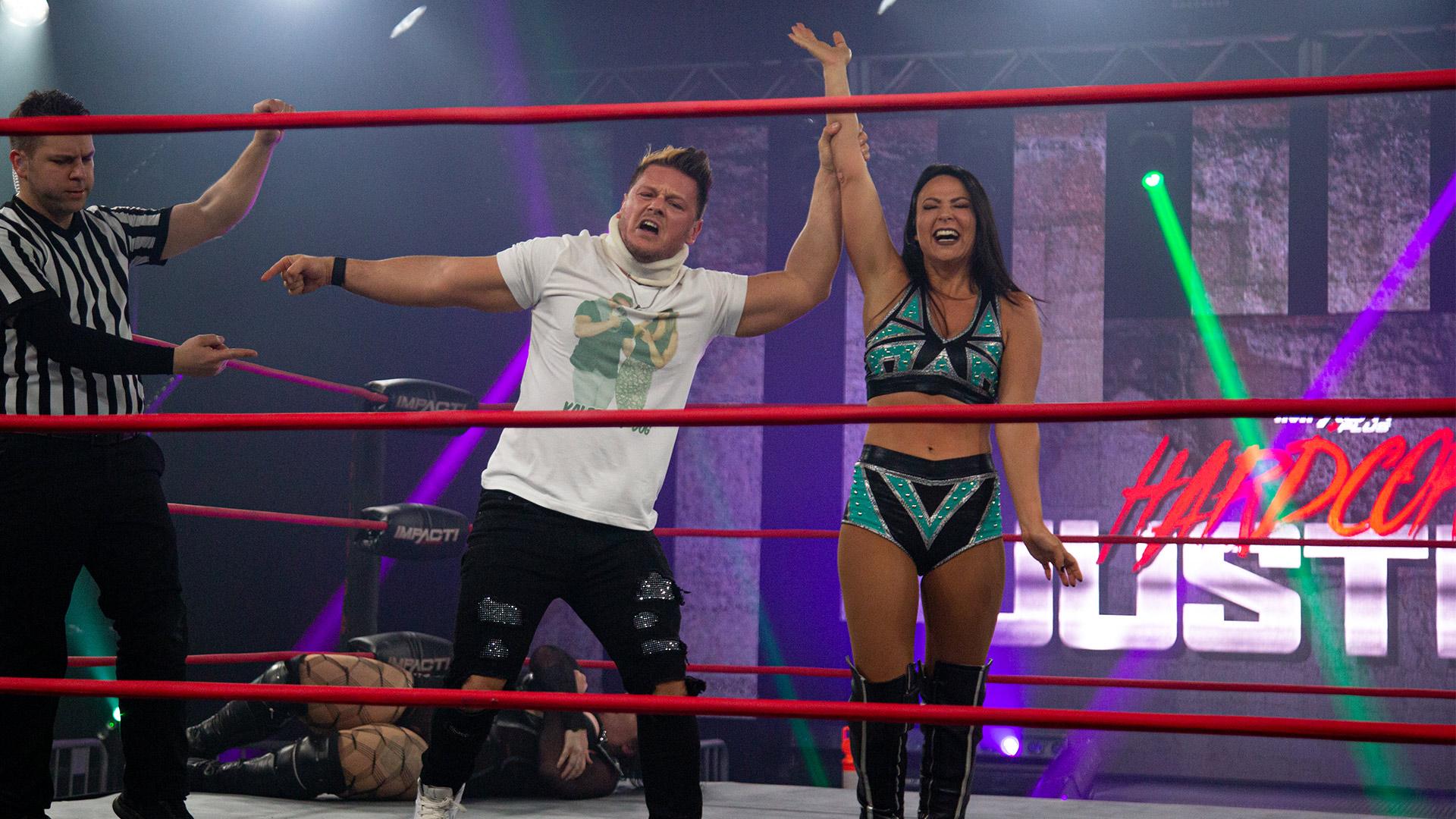 Dashwood Basks in Her Success – IMPACT Wrestling