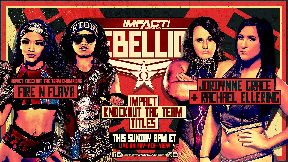 Rachael Ellering Revealed as Jordynne Grace's Partner for Rebellion – IMPACT Wrestling