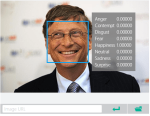 Microsoft facial expressions and emotions detection